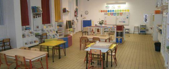 Classe montessori, ecole de donnezac