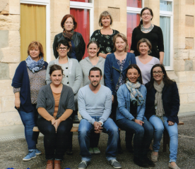 L'équipe de l'école de Donnezac