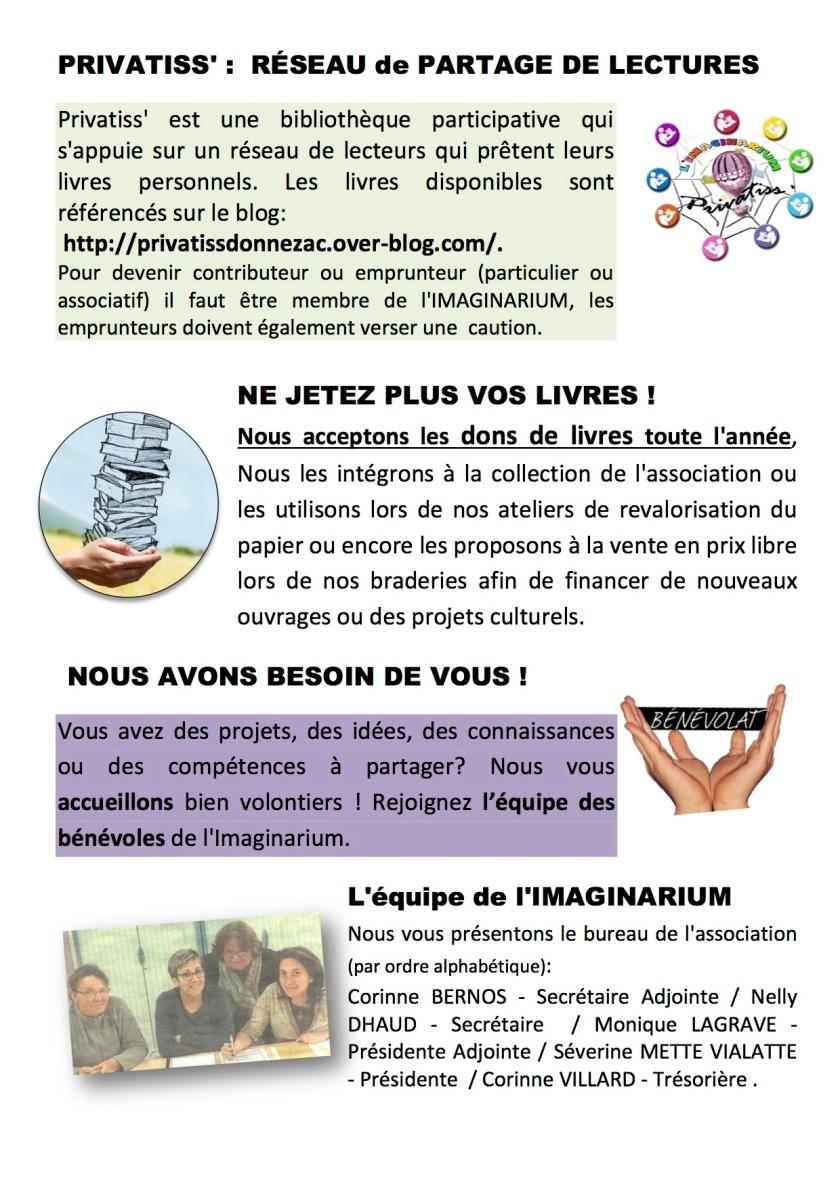 Nouvelles Imaginarium- 1er semestre 2017 page 2