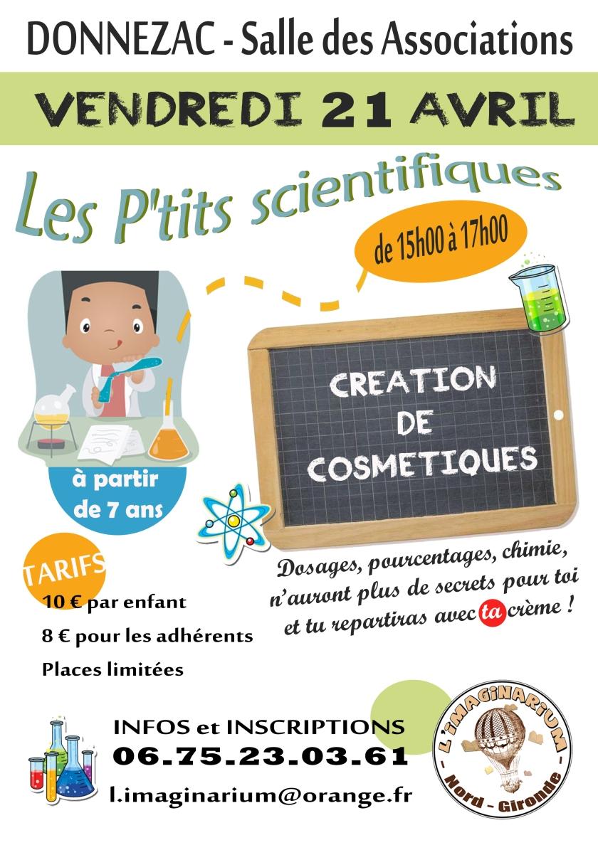 Affiche 21 avril cosmétiques