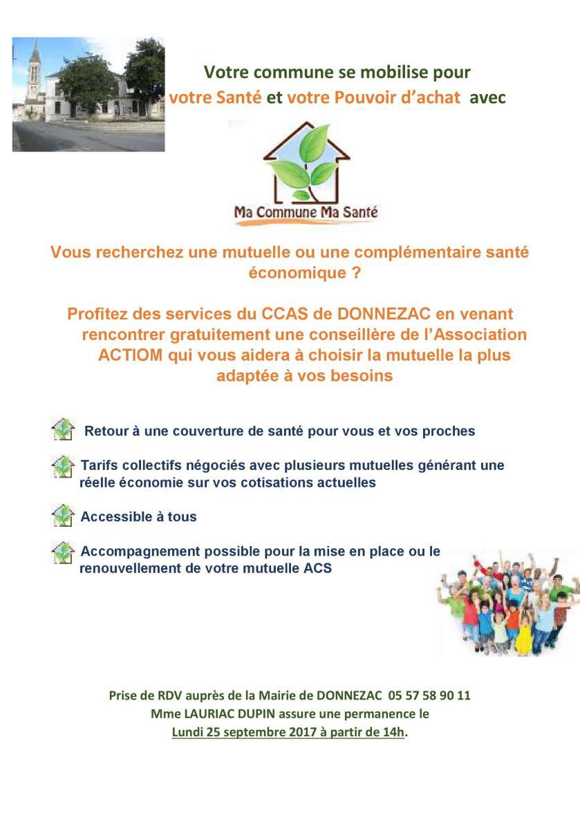 Ma Commune, Ma Santé 2018