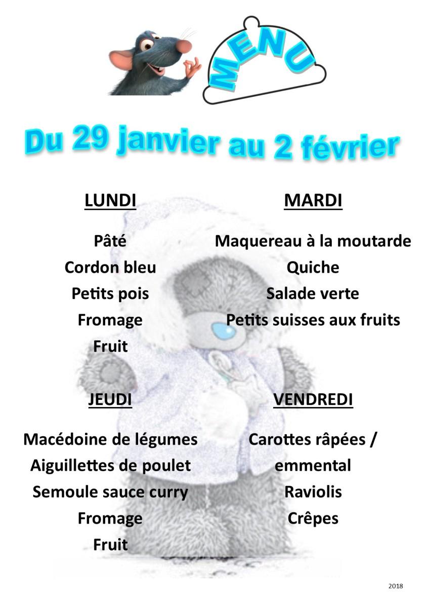 menu 2018 01-02 du 29 au 2