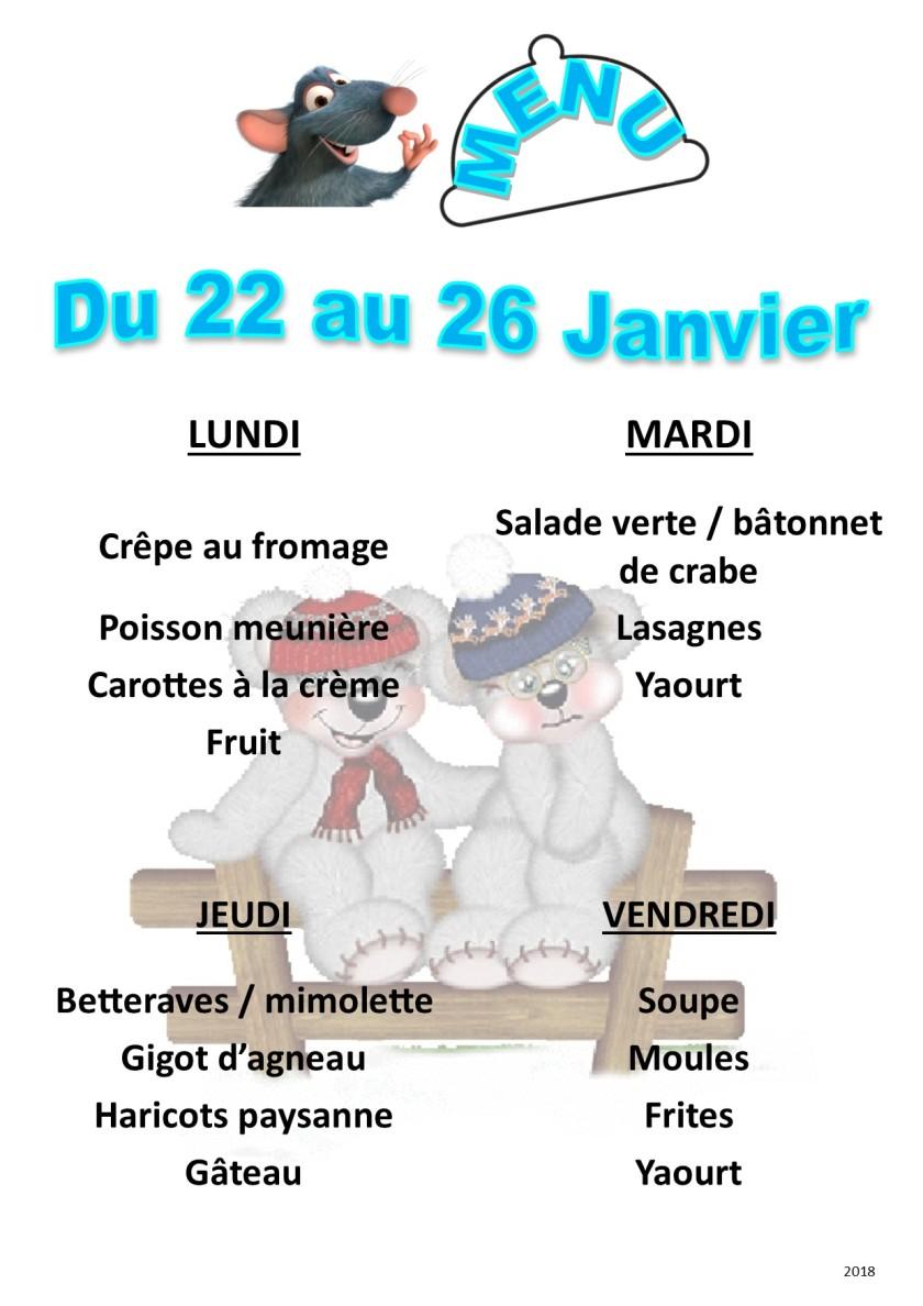 menu 2018 01 du 22 au 26