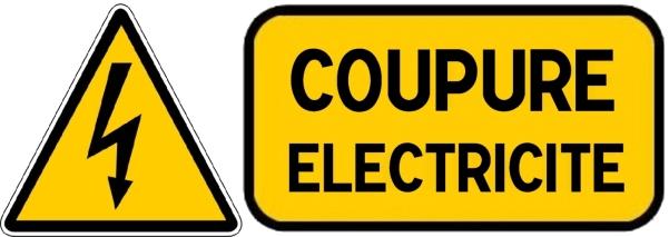 ATTENTION COUPURE ELEC