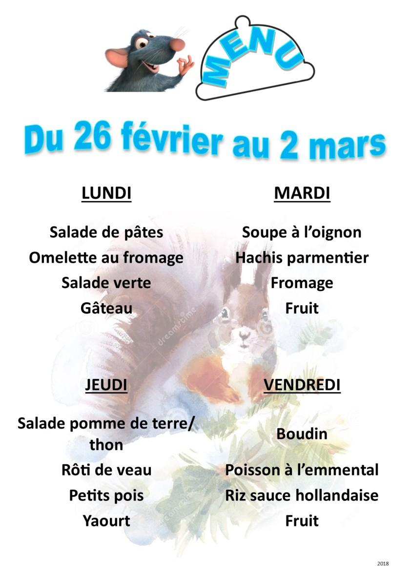 menu 2018 02-03 du 26 au 2