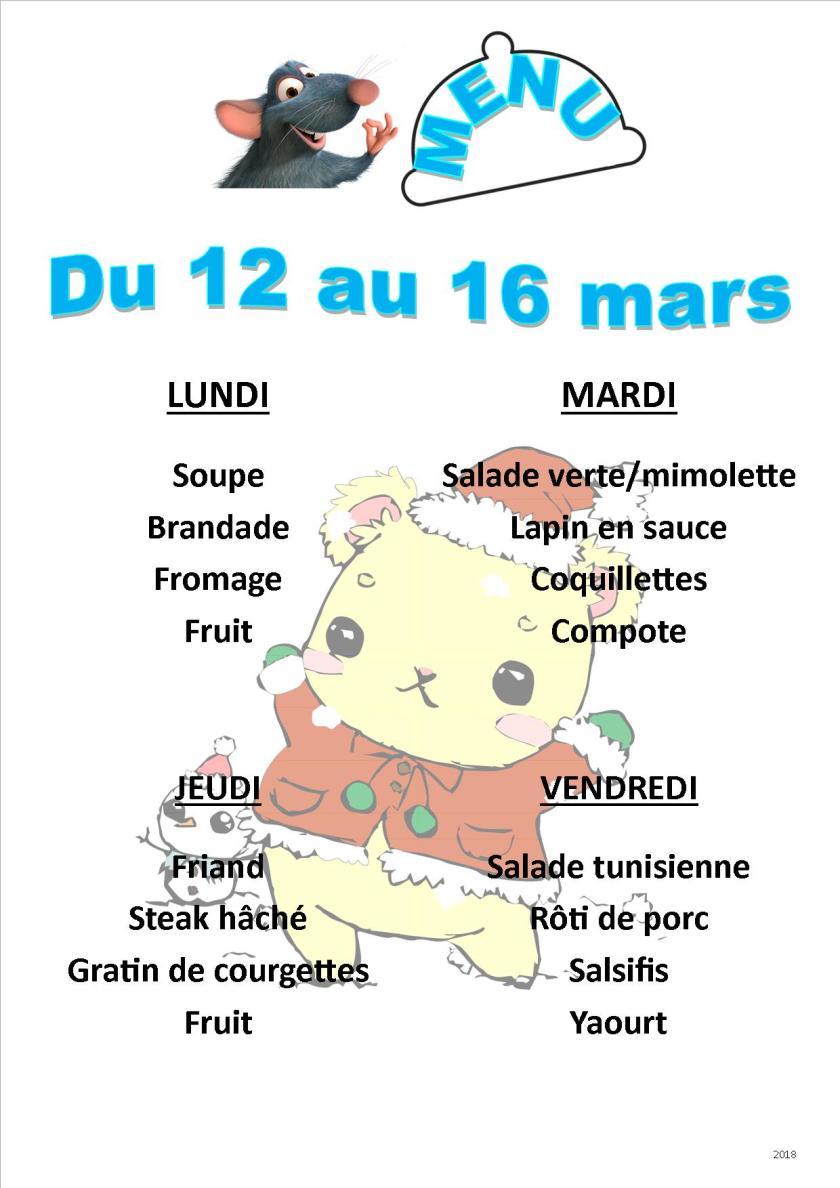 menu 2018 03 du 12 au 16