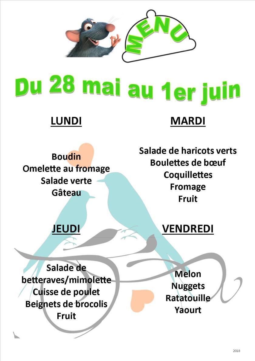 menu 2018 05-06 du 28 au 1