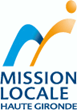 Mission locale Haute Gironde logo