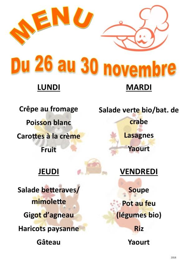 menu 2018 11 du 26 au 30