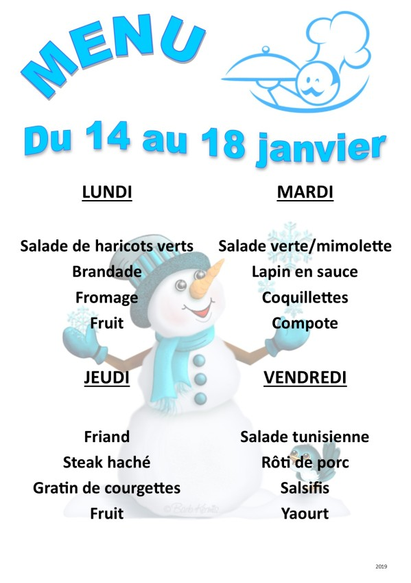 menu 2019 01 du 14 au 18