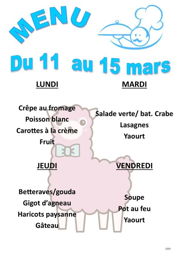 menu 2019 03 du 11 au 15