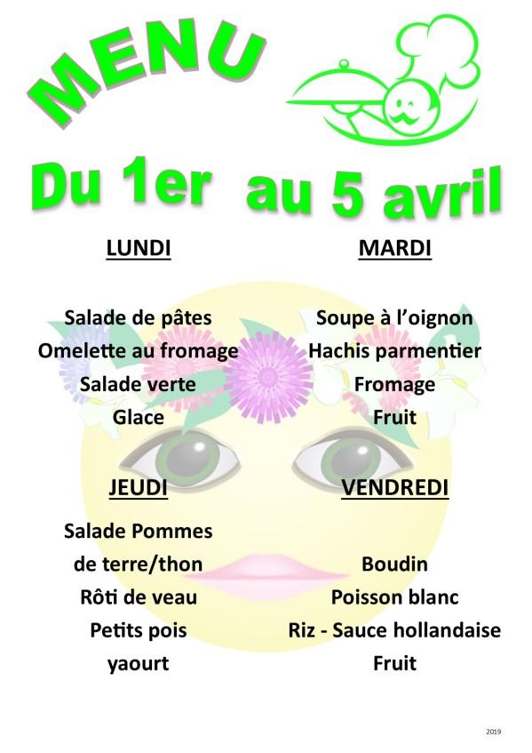 menu 2019 04 du 01 au 05