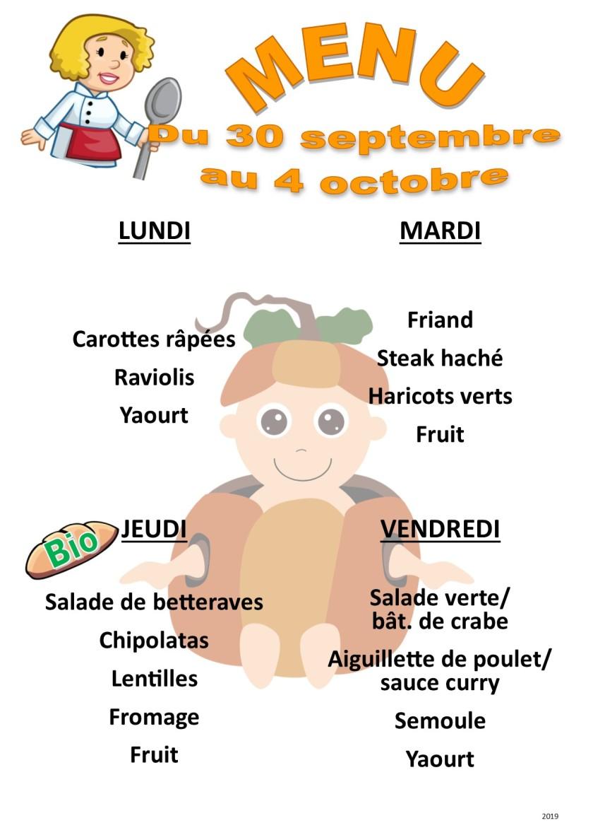 menu 2019 09-10 du 30 au 4