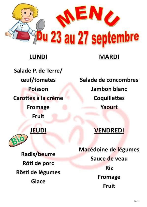 menu 2019 09 du 23 au 27