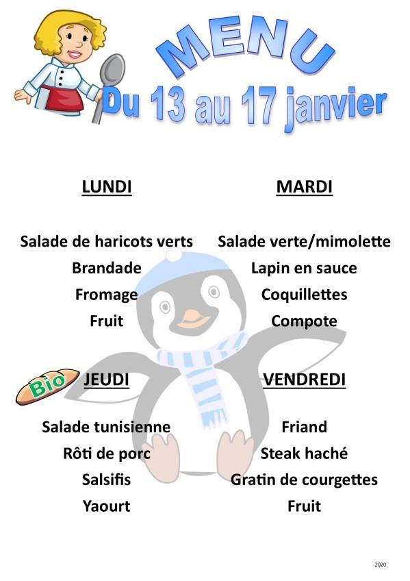 menu 2020 01 du 13 au 17