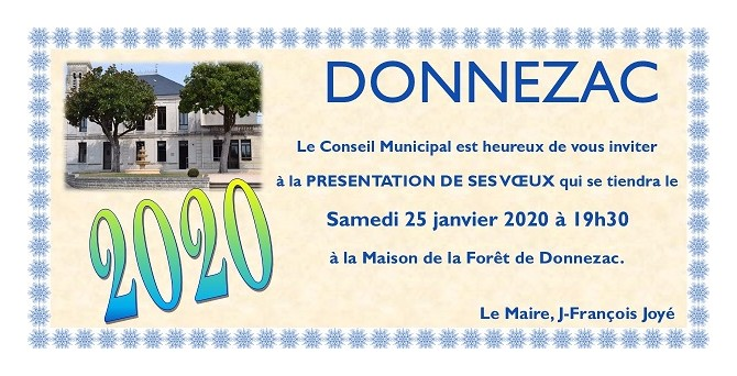2020 INVITATION VŒUX