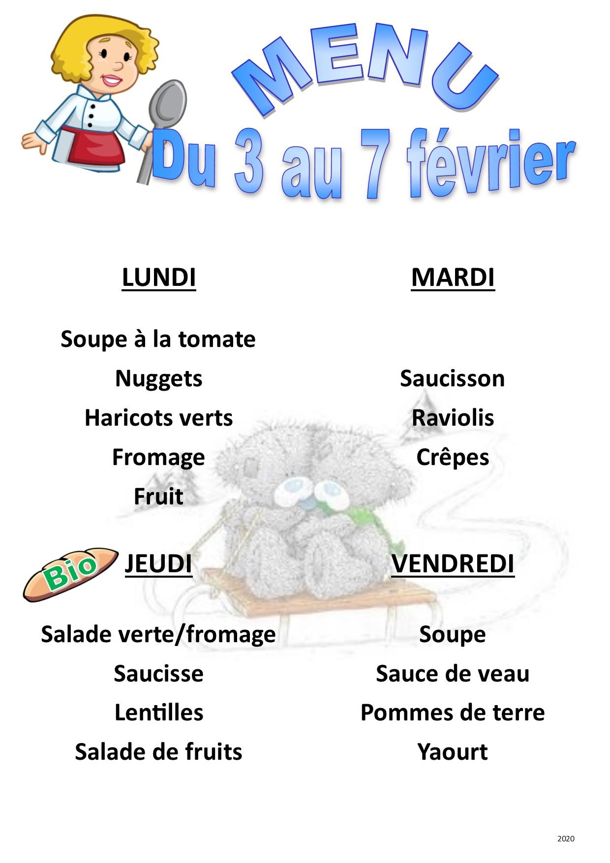 menu 2020 02 du 03 au 07